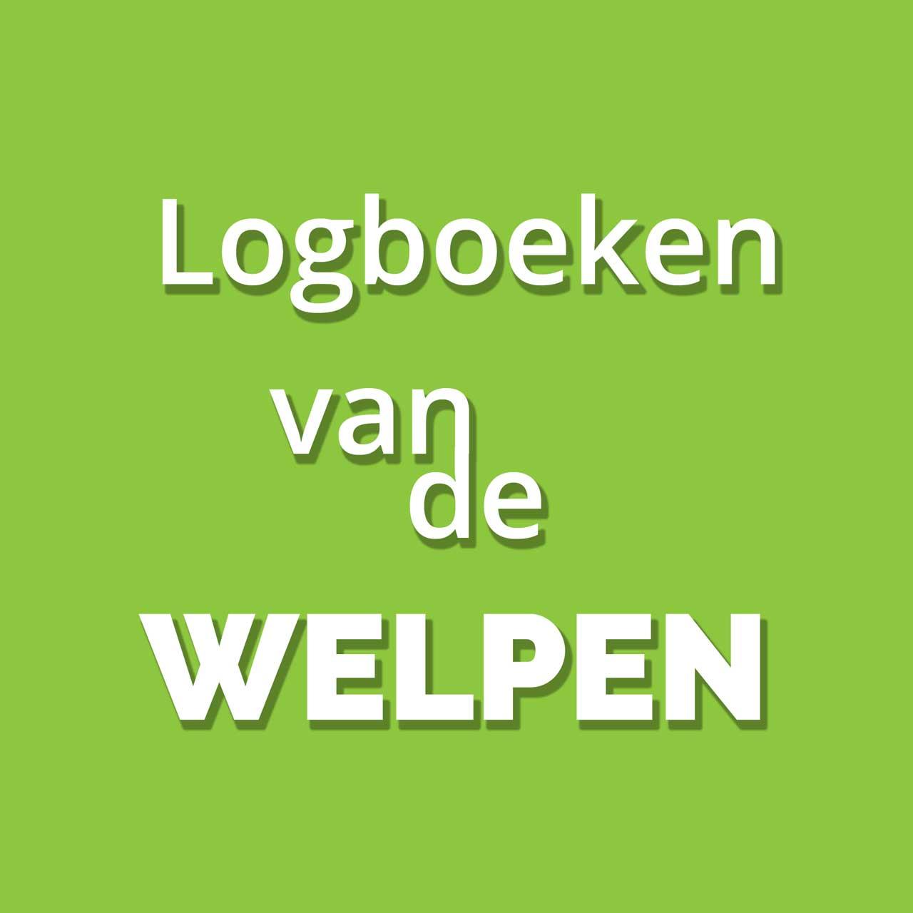 Logboeken van de Welpen hordes - Scouting De Jutters uit Groningen